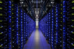 A Google data center.