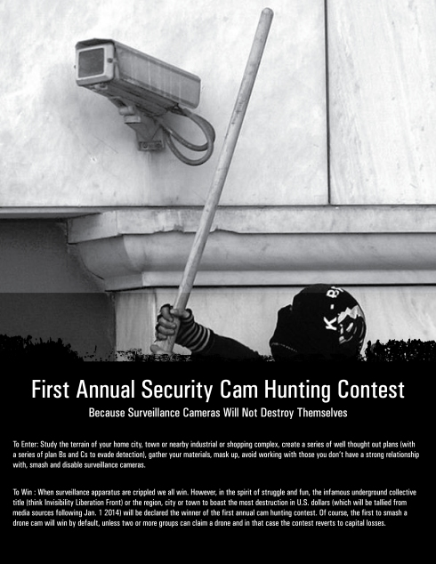 Contest Because Security Cameras Wont Destroy Themselves Earth