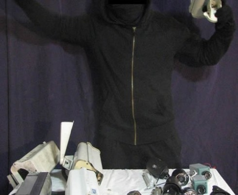 The spoils of a Camover mission in the Puget Sound region (Credit: AnarchistNews.org)