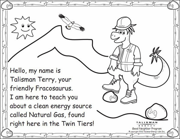 Schoolchildren asked to celebrate fossil fuels and mining for Fossil coloring pages