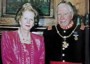 Margaret Thatcher with Chilean Dictator and Mass Murderer General Pinochet