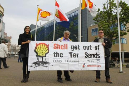 Help a delegation of First Nations and Alaska Natives to attend Shell AGM in the Hague, Netherlands to stop extreme energy development on their homelands