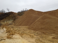 Frac Sand Hills IA