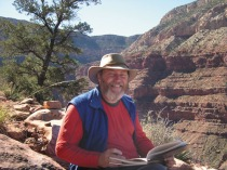 Keith McHenry at the Grand Canyon