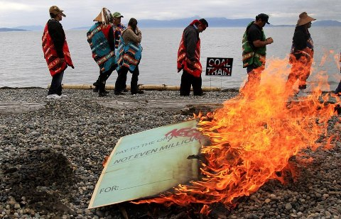 White Power on the Salish Sea: The Wall Street/Tea Party Attack on Indigenous Land