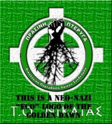 green wing golden dawn neo nazi logo