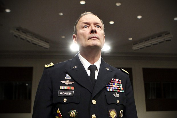 Keith Alexander - former NSA chief