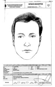 """and released by attorney Eduardo Contreras oThis drawing done by Chile's policen Monday, June 3, 2013, shows a representation of the face of Dr. Price, who allegedly attended Pablo Neruda at the hospital when he died forty years ago. Judge Mario Carroza is formally investigating the cause of death of the Nobel Prize-winning poet. A judge ordered the police sketch based on the collections of Dr. Sergio Draper, a key witness who attended Neruda at the hospital. Draper said in the 1970s that he was at Neruda's side when he died. But Draper recently told the judge a different story — that a """"Dr. Price"""" took over Neruda's care just before he died, and disappeared shortly thereafter. The police notes below the sketch describe the subject as about 28 years old, with blue eyes, white skin and short blonde. (AP Photo/Chile's Police)"""