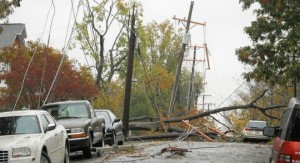 Power lines downed by Hurricane Sandy (Photo: Arlington County/cc/flickr)