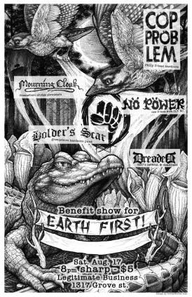 Greensboro EFJ punk show