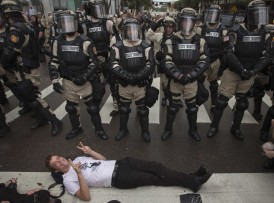 The police state in effect at 2013 RNC in Tampa
