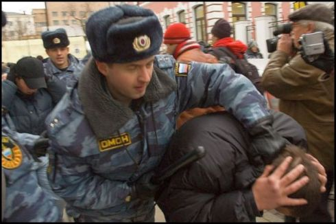 In June, 300 Muslims were detained in one of several raids on Muslim prayer rooms in Russia